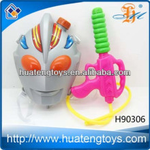 Новые летние пластиковые спортивные игрушки насос водяной пистолет с сумкой большой рюкзак водяной пушки игрушки для детей, водяной пушки серии H90306
