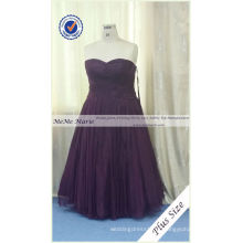 Organza Super Plus Size Evening Gowns com Sweetheart Online Mother Dresses For Party BYE-14061