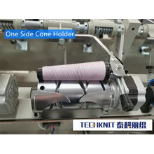 2 Spindle Yarn Winding Machine with Double Wax