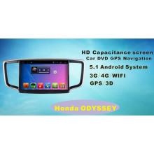 Système Android Car DVD Navigation GPS pour Honda Odyssey 10.1 pouces avec Bluetooth / TV / WiFi / USB / MP4