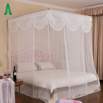 Bed Canopy Lace Princess King Size Moskitonetz