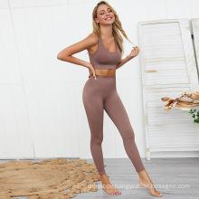 Fashion seamless yoga clothes& Yoga apparel