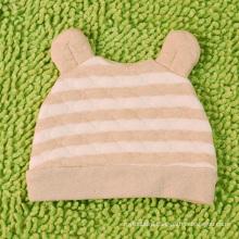 Organic Cotton Newborn Baby Striped Hat