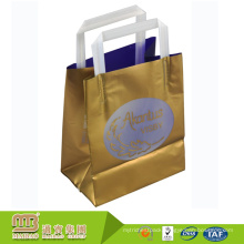 BSCI factory audited enviromental protection plastic bag with custom own logo printed