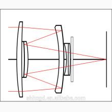 Lente óptica del espejo llevado lente de la luz de la calle
