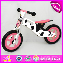 2014 Cute Design Wooden Bicycle Toy for Kids, Cheap Wooden Bike Toy for Children, Hot Sale Wooden Balance Bicycle for Baby Factory W16c077