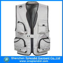 New Style Wholesale Man Reporter Vest in Bulk with Hot Selling