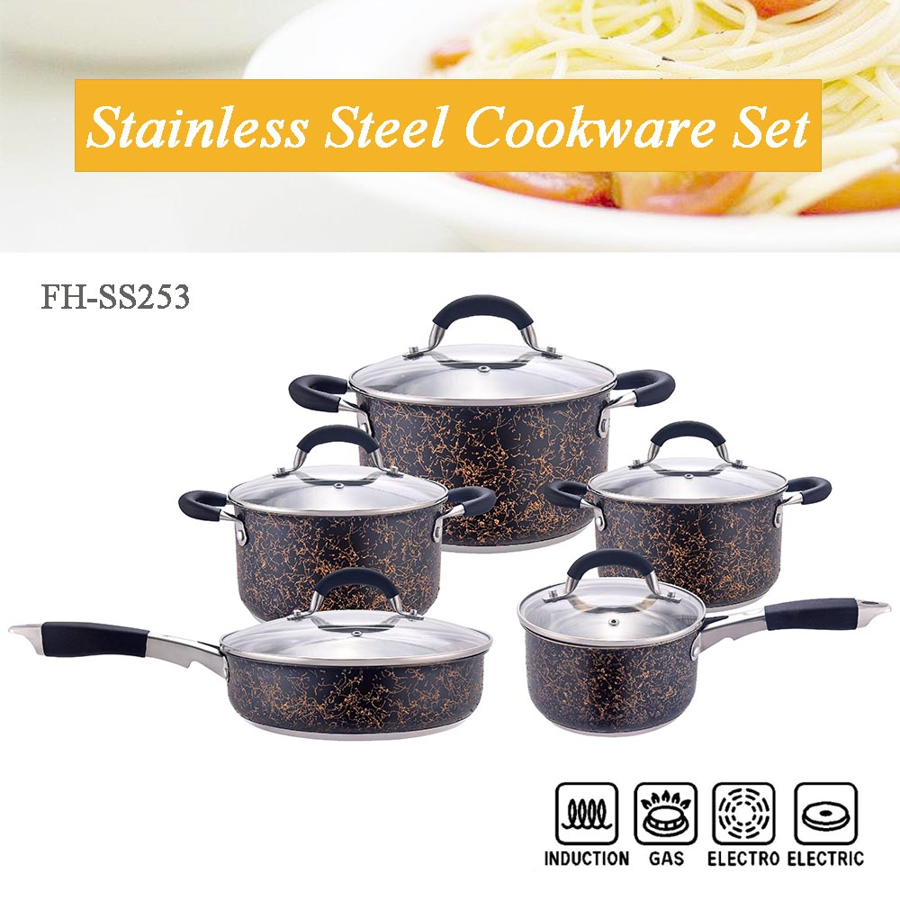 black cookware set