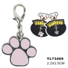 Paw Shape baratos perro etiqueta, etiqueta de mascotas (YL73469)