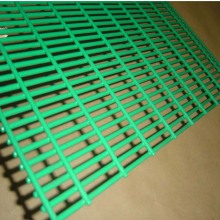 Темно-зеленый с покрытием из ПВХ Сварной сетки