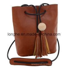 Diseñador borlas cordón moda señora bolso (ly0154)