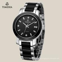 Armbanduhr des heißen Verkaufs-Männer mit schwarzem keramischem Band 72117