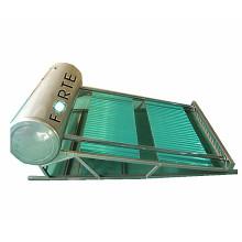 Collecteur solaire de caloduc avec collecteur de courbe