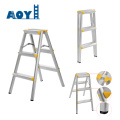 Aluminum folding stool ladder