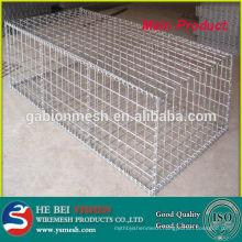 Galvanized Welded Gabion Basket/mesh for Sale with low price