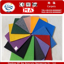 Made to Order Polyester and Polypropylene Plain Exhibition Carpet with Cheap Price
