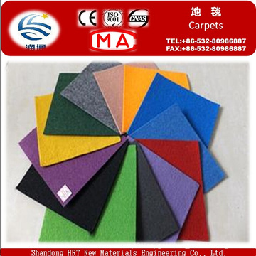 100% Polyester Non Woven Needle Punched Hall Carpet