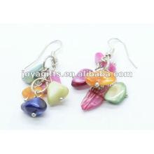 Grape Shaped MOP Earring