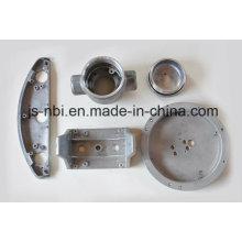 Aluminium-T-Stücke und Stöpsel der Druckguss-Teil
