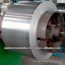 BANDA del material del acero inoxidable de la PRECISIÓN de la alta calidad con grado 200.300.400series y diversos finales 2B / BA / Mirror / No.4)