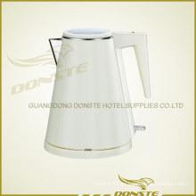 Calentador de agua de doble cubierta blanco y negro