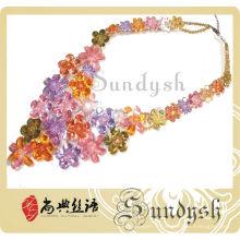 Colliers De Mode Bijoux Jeune Fille Cristal Collier Fabriqué En Chine Collier