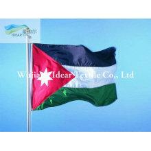 100% poliester nacional banderas acabada o banderas