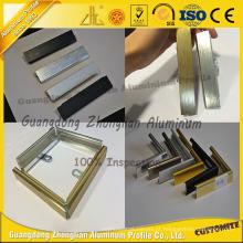 China Fornecedor Escovado Acabamento Moldura De Alumínio para Foto / Imagem