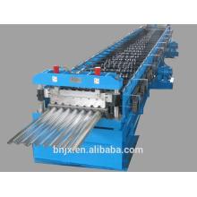 Rodillo de acero de la cubierta que forma la máquina, rodillo de la hoja de la cubierta del piso que forma el precio de la máquina