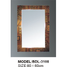 5mm Thickness Silver Glass Bathroom Mirror (BDL-3108)