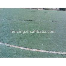 спортивной площадки, загородка ячеистой сети