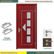 PVC Wooden Door Balcony Door PVC Door Profile