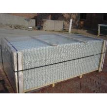 Panneau à mailles métalliques soudées / Maillage métallique / filet soudé