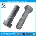 4.8,8.8 DIN DIN 933 HDG Acero inoxidable Perno hexagonal y tuerca, perno hexagonal y tuerca