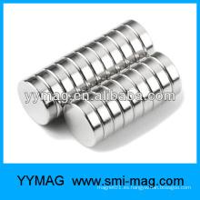 Imán permanente de cilindro de neodimio de cualquier tamaño