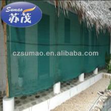 Red de cortavientos de la cortina de la agricultura del HDPE, 70gsm - peso 110gsm