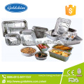 Healthy Food Packing Aluminium Material Takeaway Foil Containers