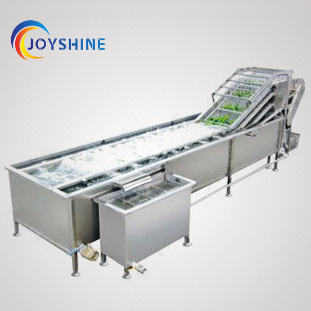 Industrial Fruit Bubble Washing Machine With Top Water