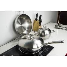 Utensilios de cocina saludables Utensilios de cocina antiadherentes Olla de leche de titanio