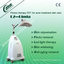 L2-Linda 8 couleurs PDT Laser Photon Dynamic Skin Rejuvenation Equipment
