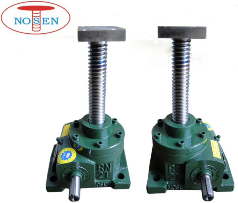 2 Ton Lifting worm gear machine screw jacks