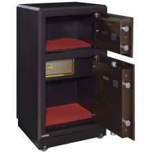 Fechadura digital segura de duas portas de metal móveis para casa