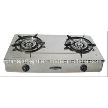 2 Burner Stainless Steel 710mm Gas Cooker