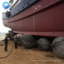 pontões de barco airbag marinho para o lançamento de navios