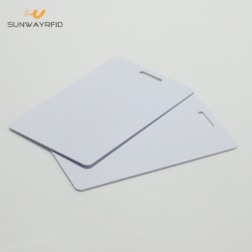 CR80 PVC NFC RFID Card dengan Hole Punching