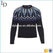 Suéter formal jacquard pesado moda clásica para hombre de negocios