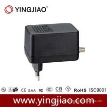 15 W AC DC CATV Adapter mit CE