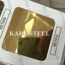 Edelstahl-Farbe geätztes Ket012 Blatt für Dekorationsmaterialien