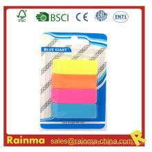 2015 Neuer 4-verpackter quadratischer Radiergummi, Gummi-Radiergummi, Förderung-Radiergummi