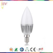 Люстры дешевые светодиодные С37 Алюминиевый Свеча Лампа 4 Вт/6 Вт/8W/10W с цоколем E14